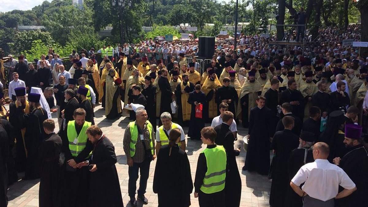 Крестный ход 2019 Киев – УПЦ Московский патриархат – фото, видео