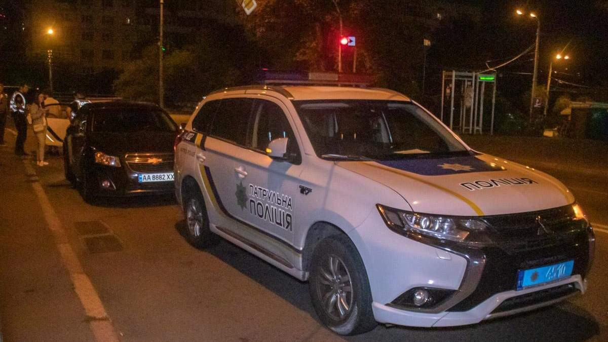 Поліція не могла затримати нетверезого водія