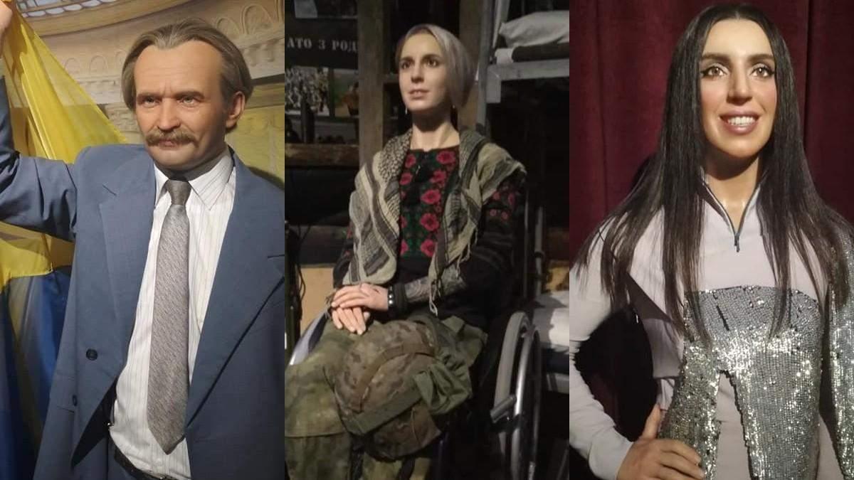 Унікальний музей з фігурами відомих діячів України відкрився у Києві: вражаючі фото