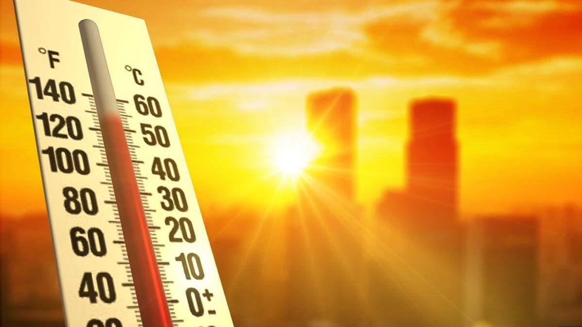 В Киеве зафиксировали самый жаркий день с начала года