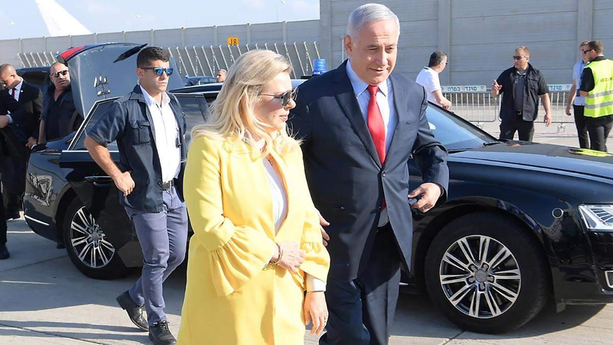 Подружжя Нетаньяху у Києві