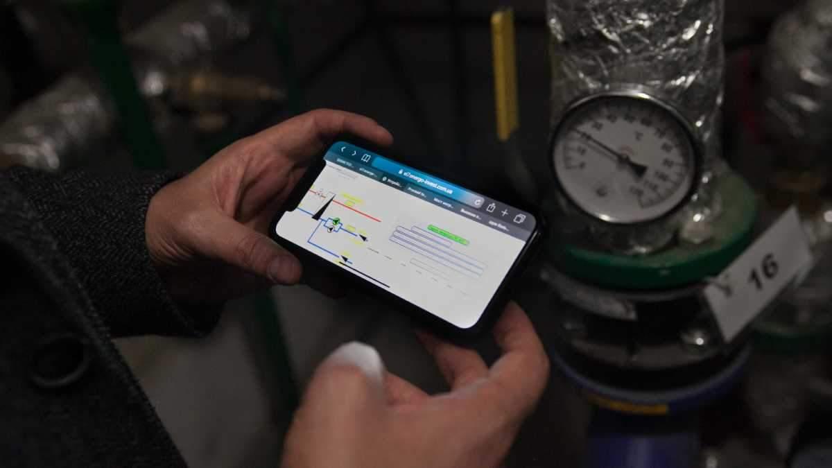 Отопление в киевских квартирах можно регулировать через смартфон
