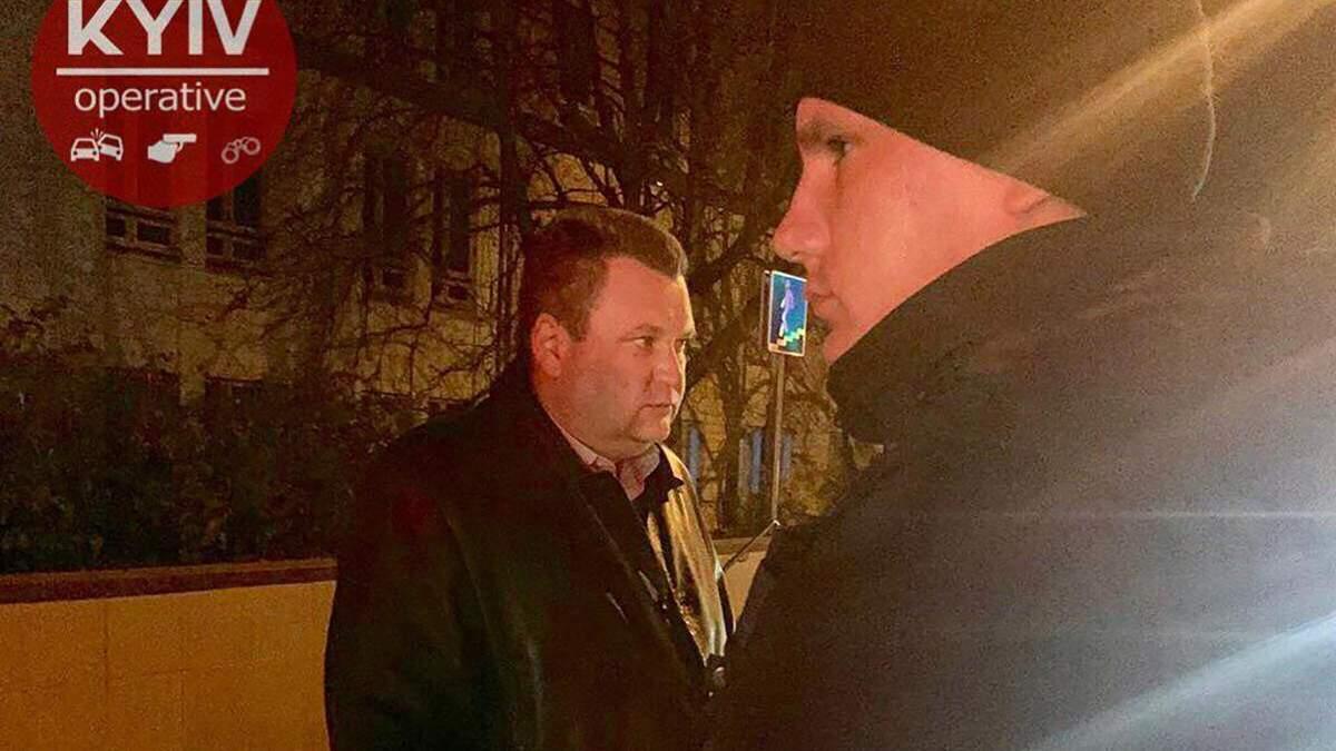 Работник ГПУ угрожал стражам порядка в Киеве