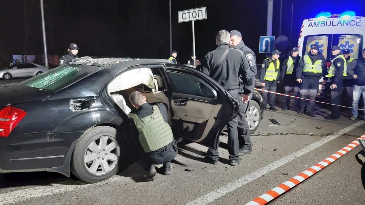 Підрив авто у Києві міг бути замахом на бізнесмена, – ЗМІ