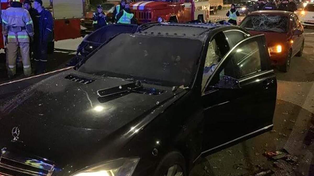 Відео вибуху автомобіля Ігоря Сало під Києвом 6 листопада 2019 онлайн