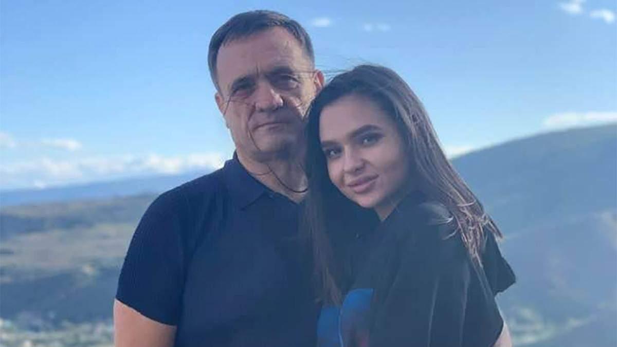 Сергій Євтягін разом із донькою Владиславою