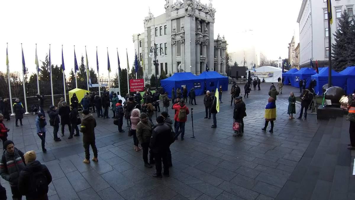 Варта на Банковой: протест на Майдане 9 декабря 2019