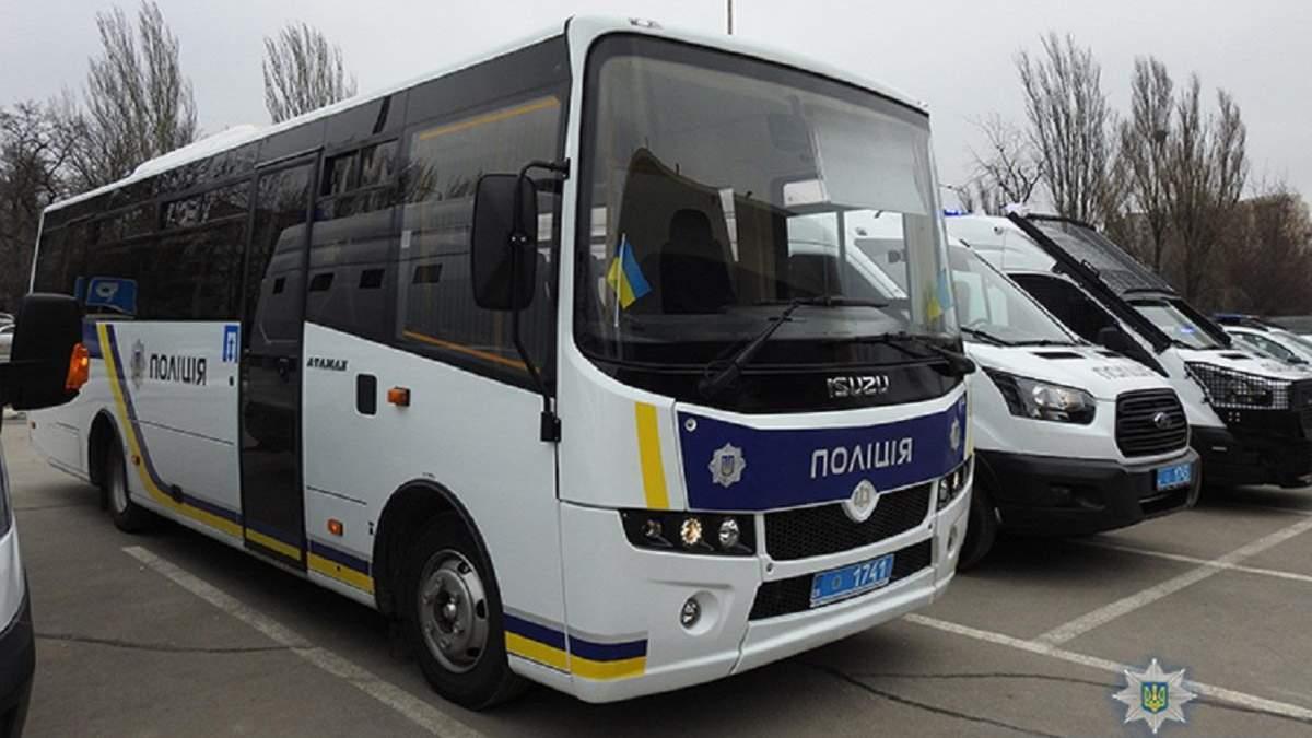 У Києві генерал поліції вислав автобус силовиків на підмогу п'яним підопічним