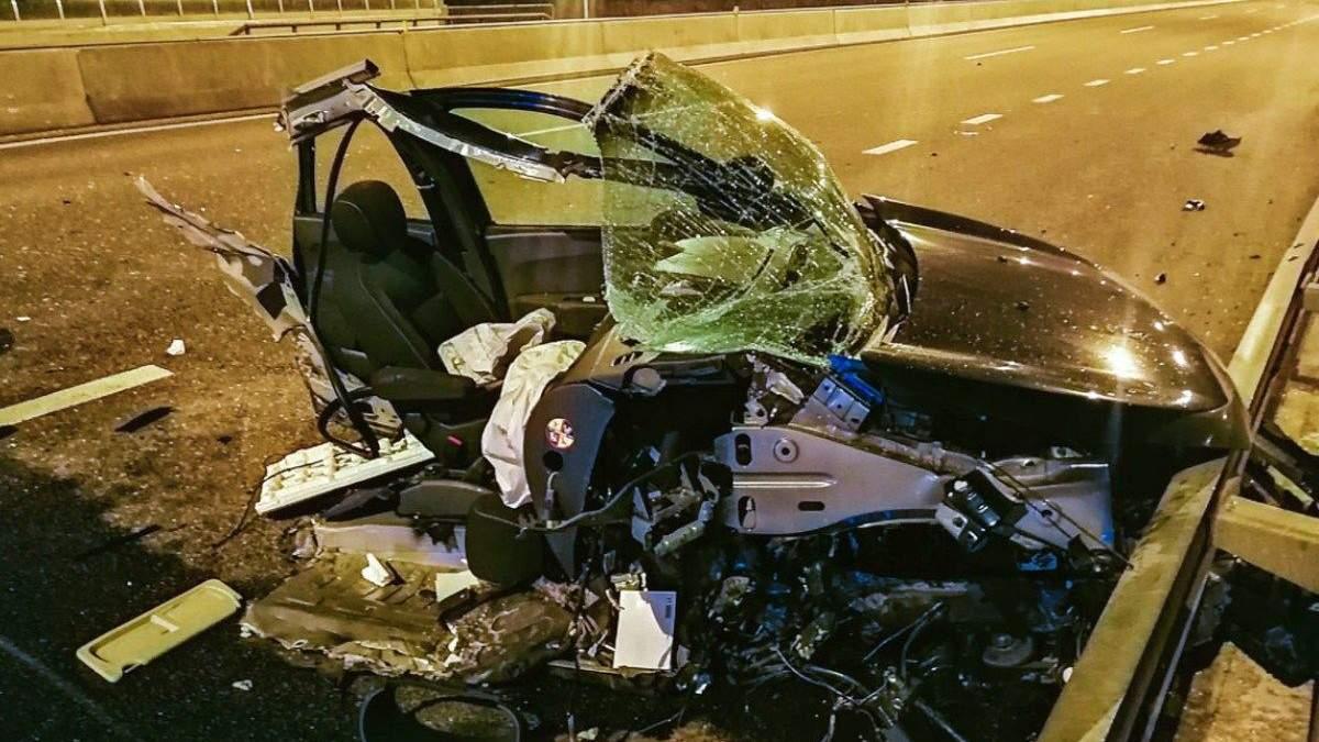 Аварія під Києвом на Дніпровському шосе, 3