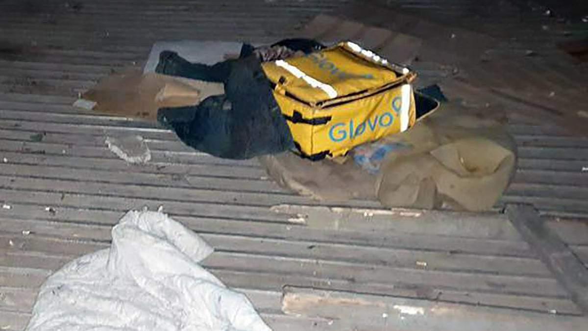 Курьер Glovo умер 24.01.2020 в Киеве при загадочных обстоятельствах