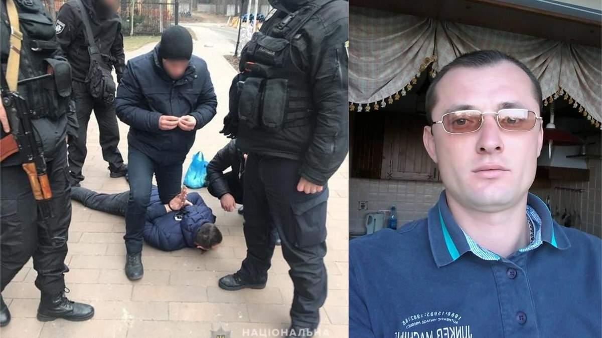В Киеве задержали боевика, который пытался убить полицейских