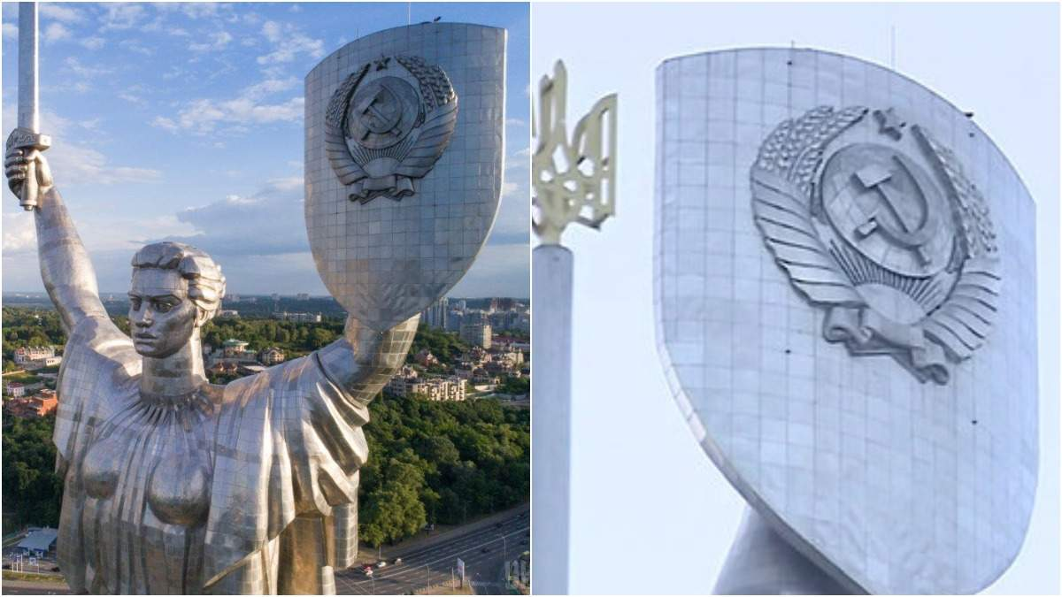 """Серп і молот над Києвом: чи декомунізують """"Батьківщину-Мати"""""""