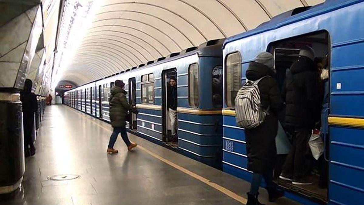 """Інцидент трапився на станції метро """"Лук'янівська"""""""