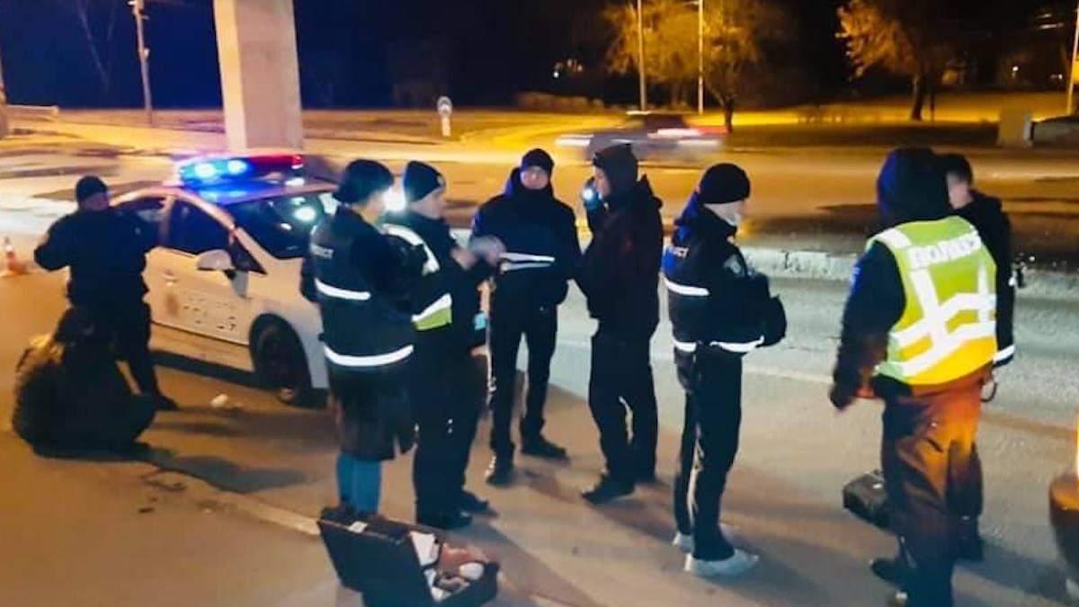 Стрілянина у Києві: поліція затримала озброєного іноземця: фото