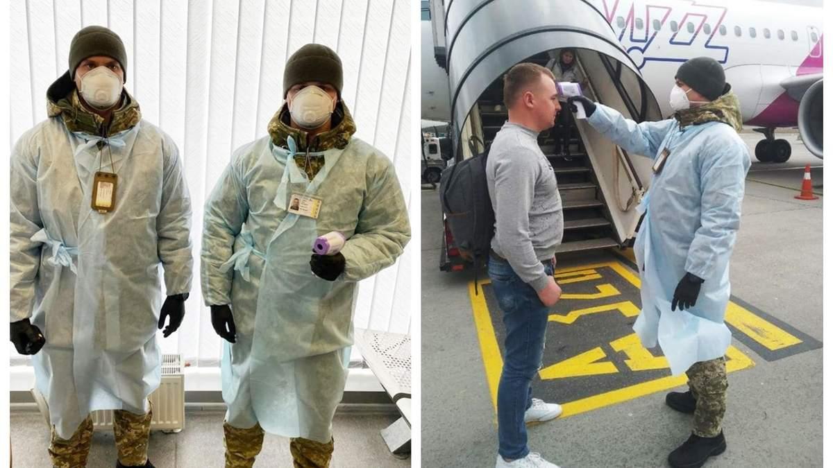 Угроза коронавируса: в аэропорту Киев измеряют температуру у пассажиров из Италии