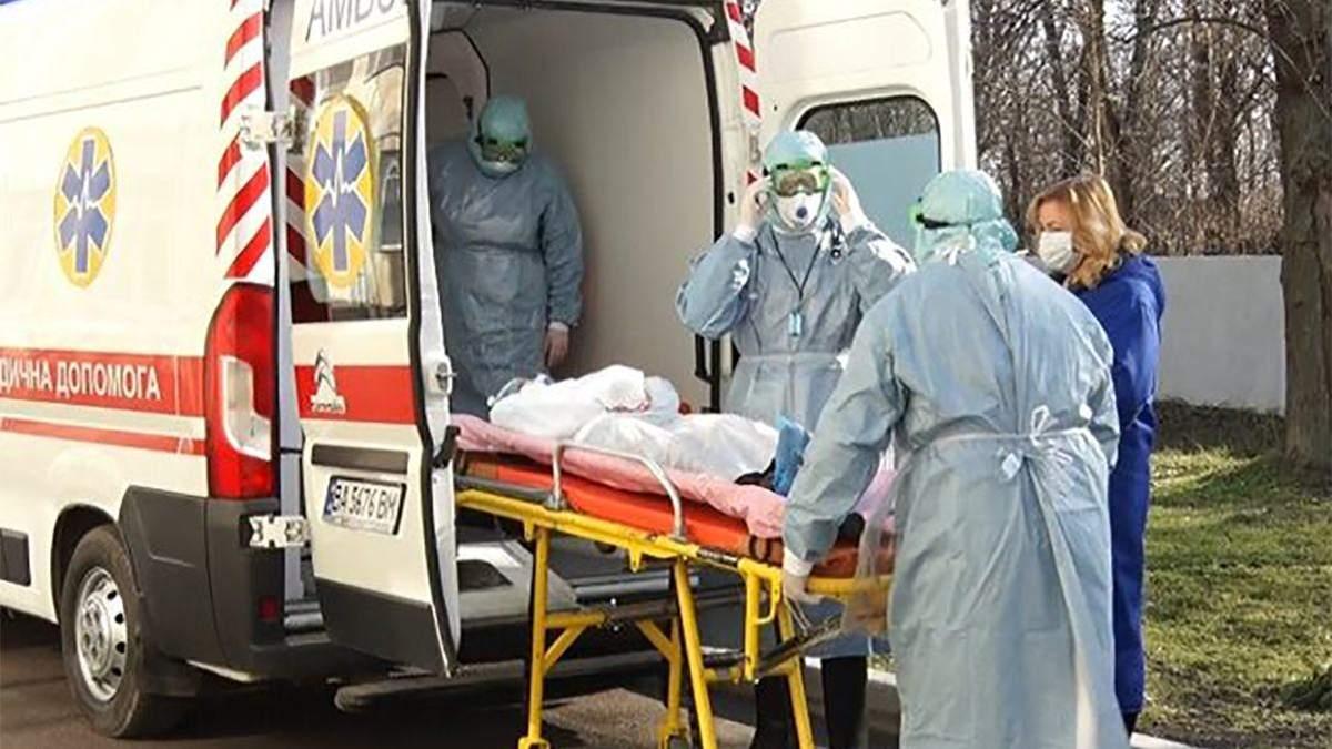 Коронавірус у Києві: один із хворих контактував із померлою від Covid-19 жінкою