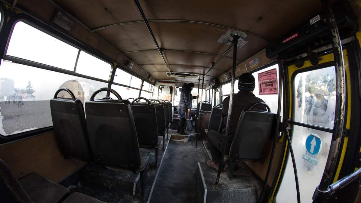 У Києві без масок не пускатимуть у транспорт з 18 березня 2020