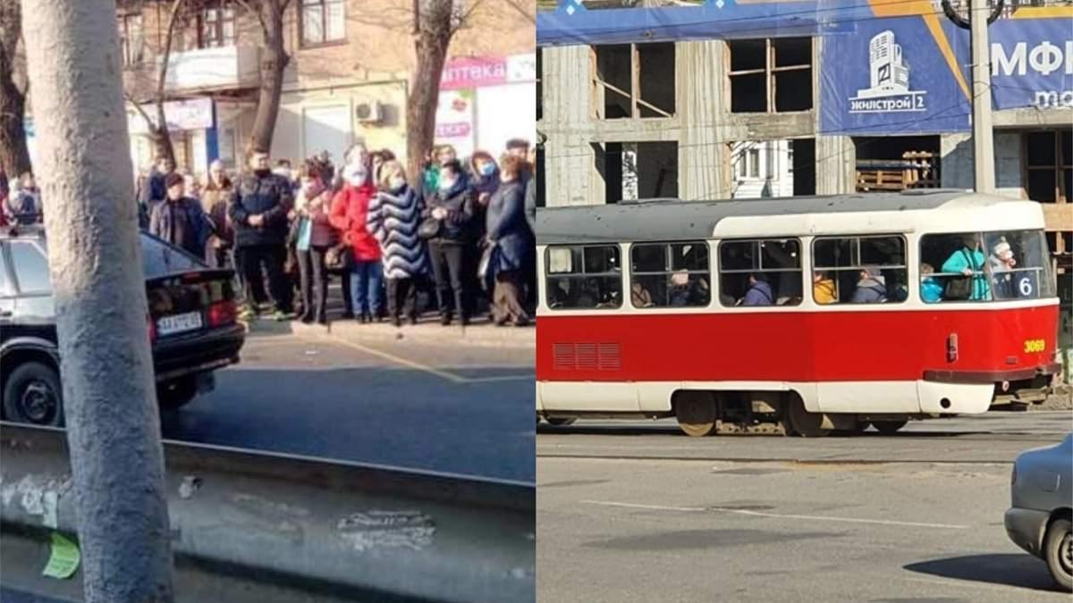 Як Київ і Харків живуть без метро: фото і відео