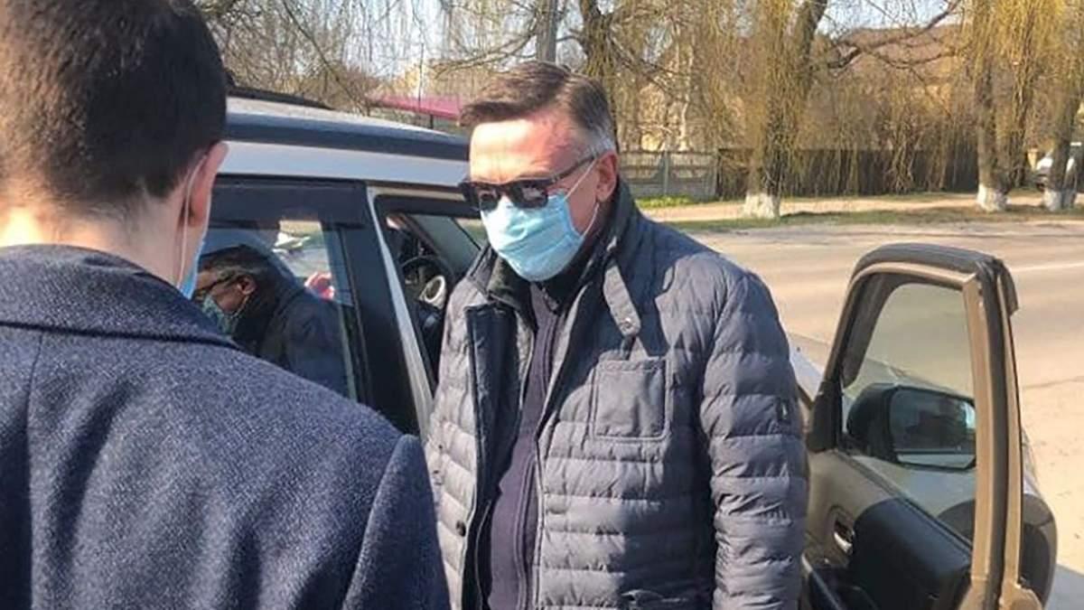 Затримання поліцією Леоніда Кожари