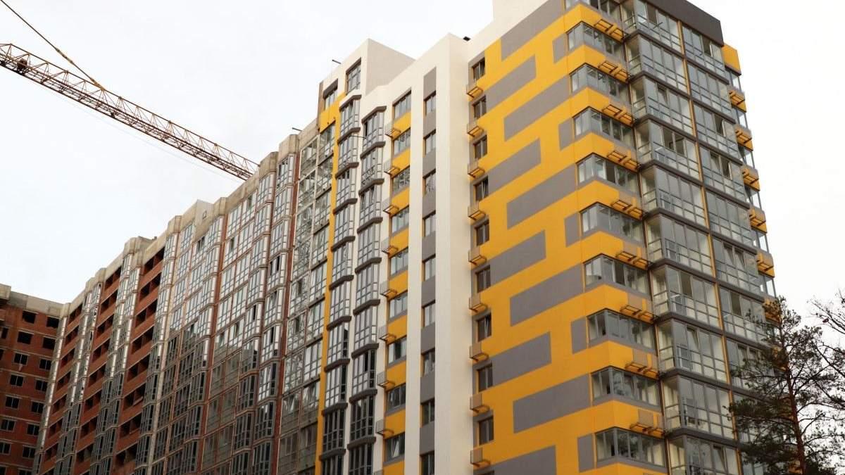 В Киеве уменьшился объем строительства нового жилья за год