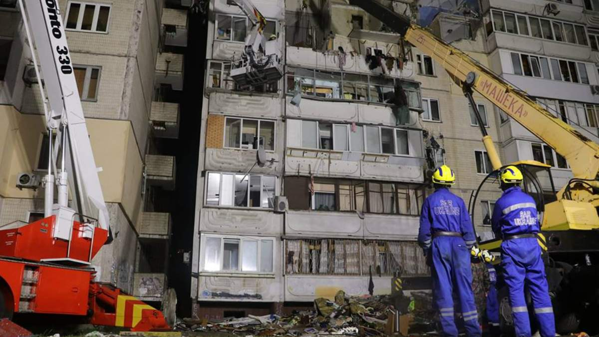 Вибух будинку на Позняках: рятувальники знайшли тіло п'ятого загиблого