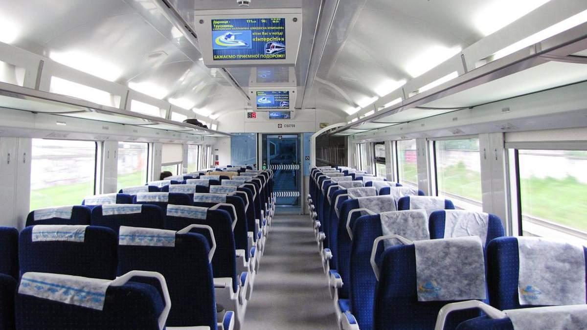 Укрзалізниця оголосила про продаж 100% місць у потягах, що курсують до Києва