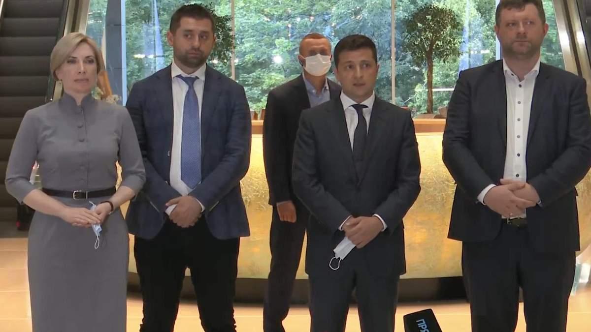 Зеленский поддержал кандидатуру Ирины Верещук