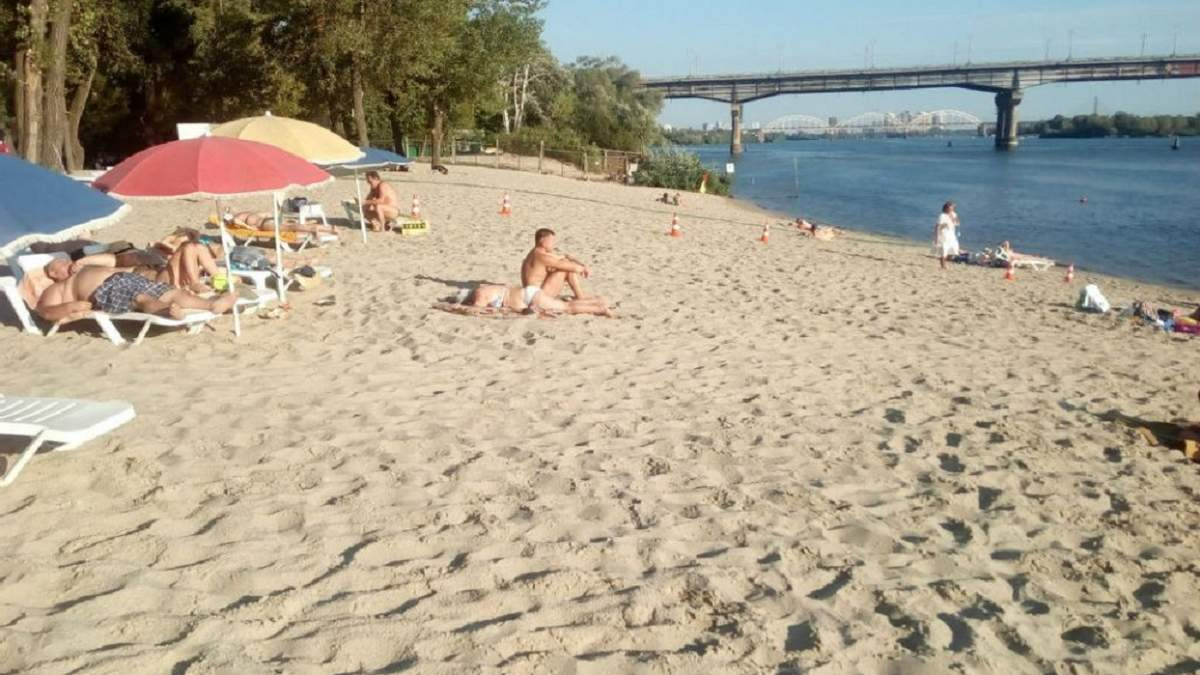 На пляжах Киева обнаружили кишечную палочку – список