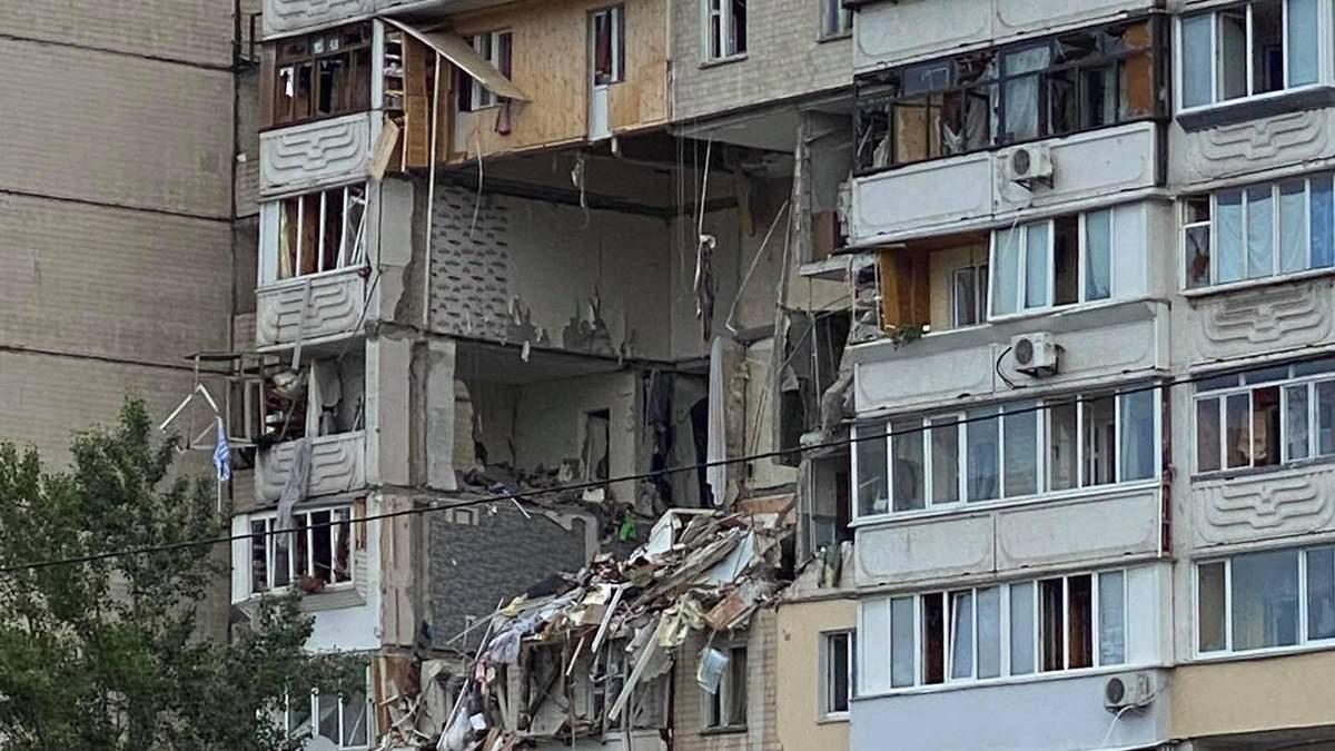 Решили судьбу дома на Позняках, который разрушил взрыв: что с ним сделают