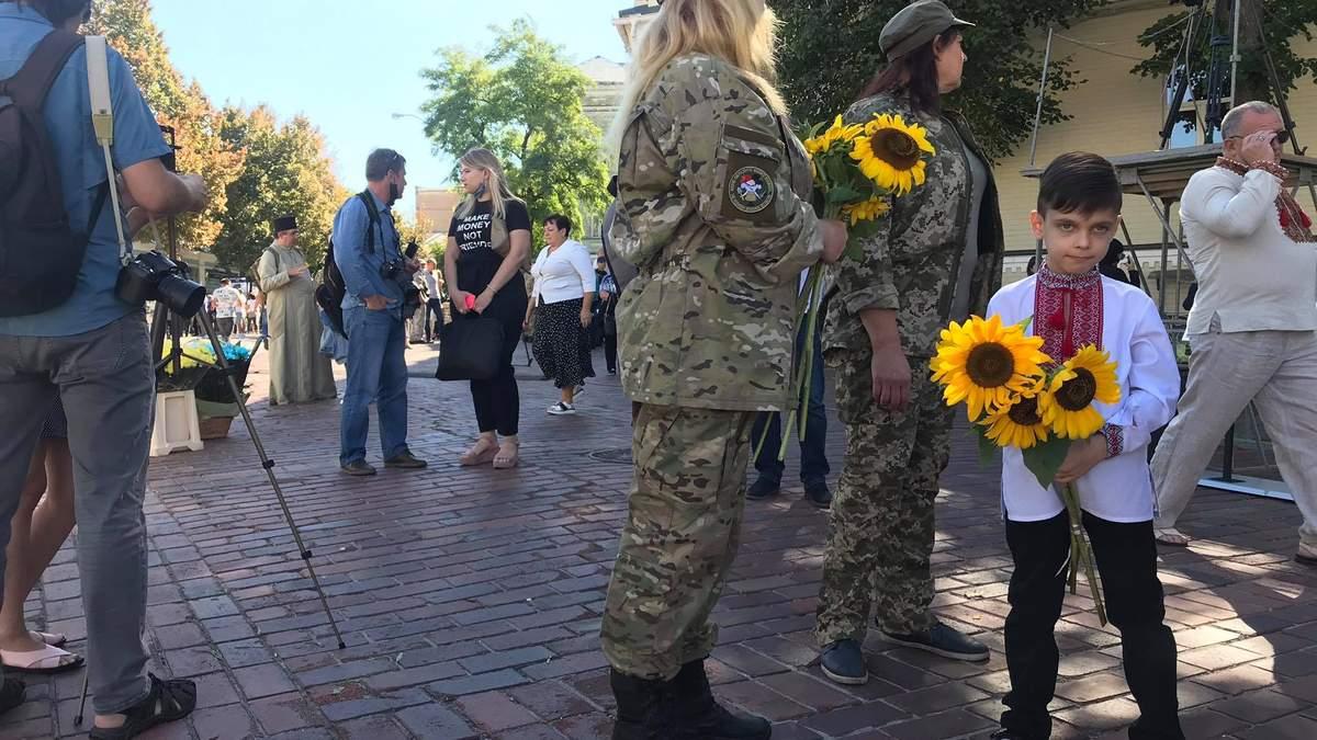 День пам'яті захисників України в Києві 29.08.2020: фото, відео