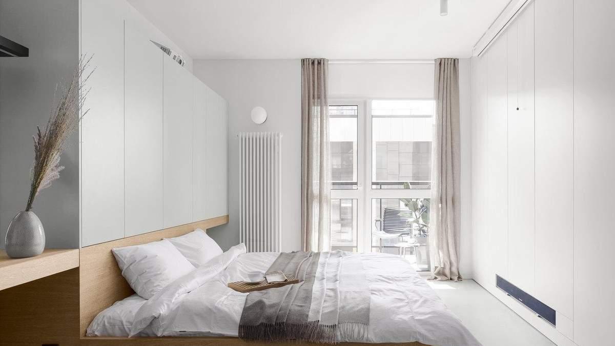 Квартиру на 34 квадратних метри вдалось виконати в стилі мнімалізму