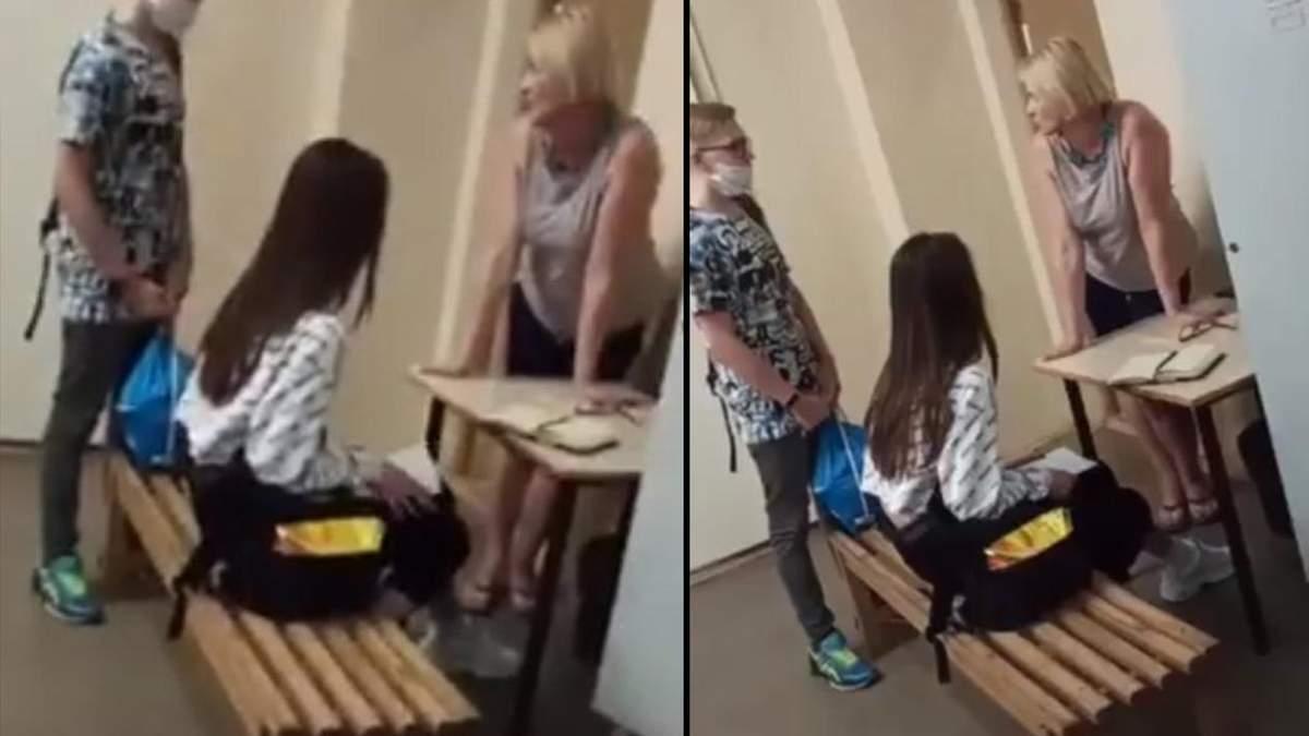 Рот закрий: у коледжі Києва викладачка принижувала студента – відео