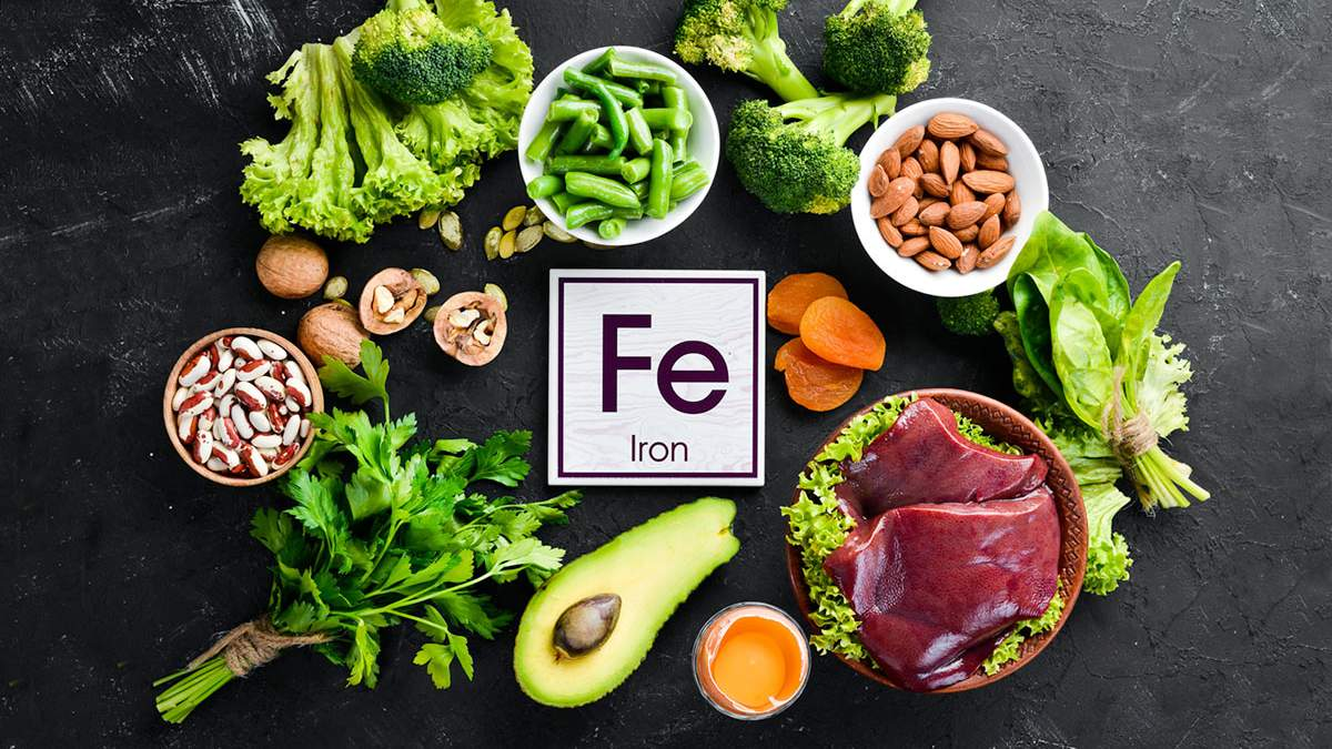 Здоровое питание – свойства железа, в каких продуктах содержится