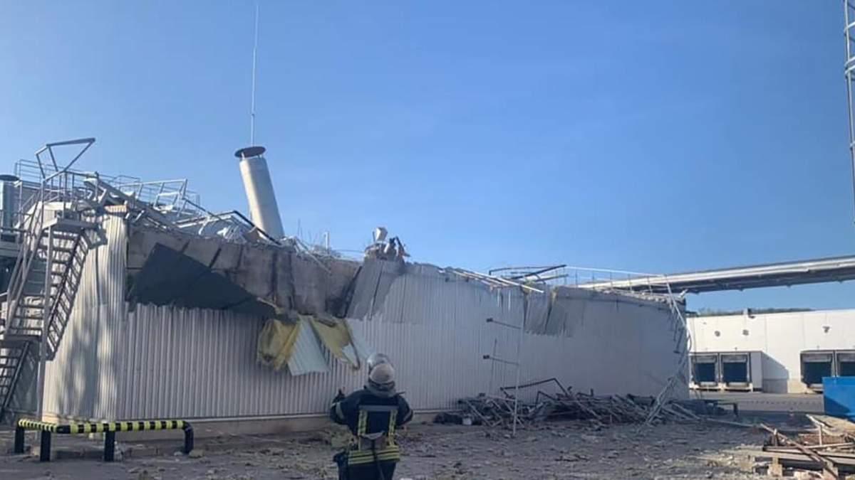 Взрыв на пивзаводе Carlsberg в Киеве 20 сентября 2020: фото