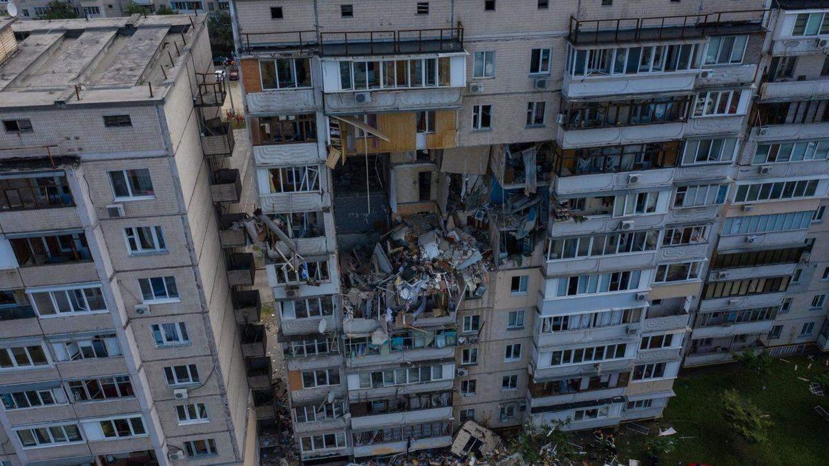 Взрыв на Позняках: многоэтажку готовят к укреплению
