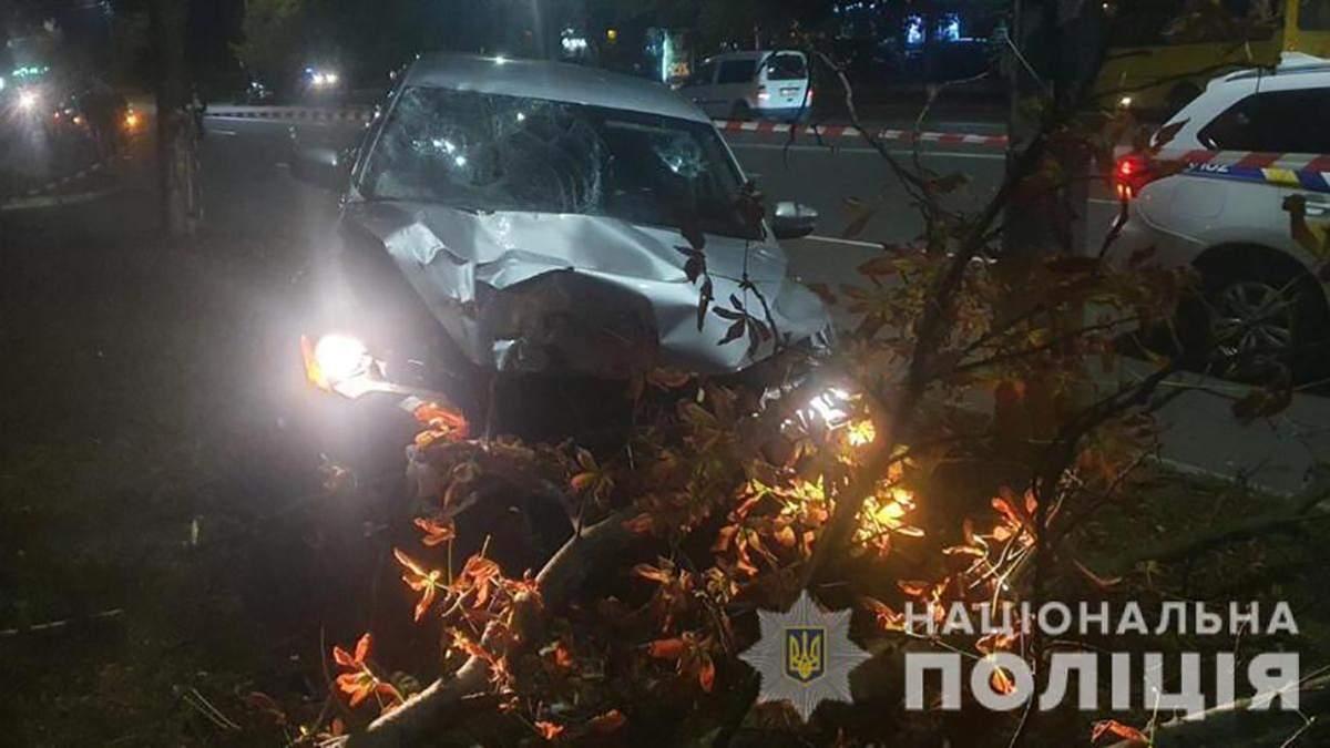ДТП в Броварах 04.10.2020: пьяный полицейский сбил мать с дочкой