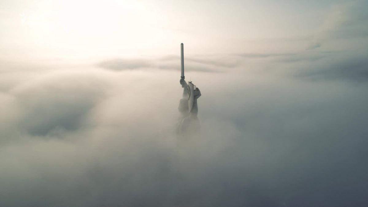 Киев оказался в тумане, который способствует загрязнению воздуха