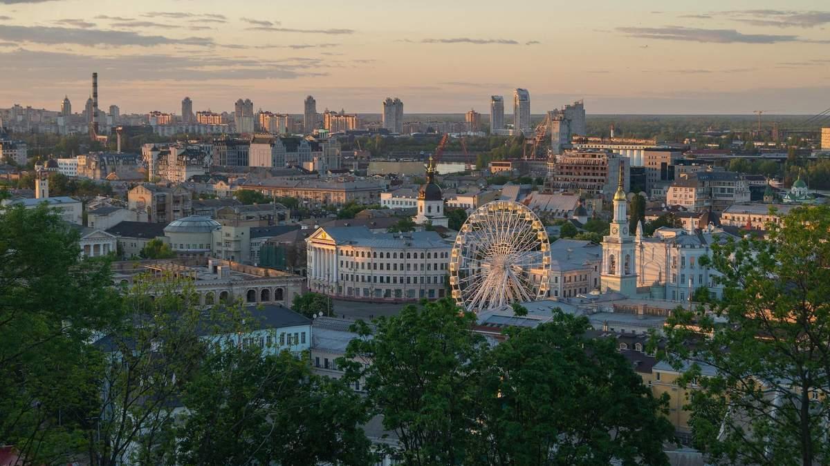 Воздух в Киеве стал чище