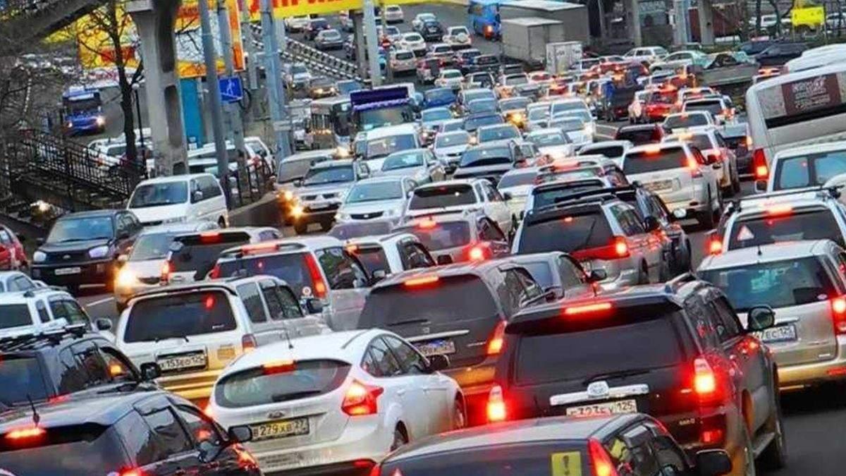 Где в Киеве трудно проехать 26 октября