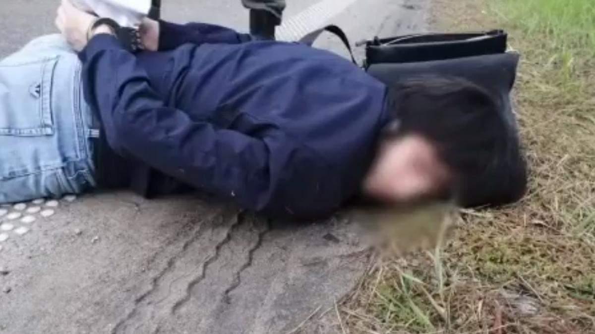 На Київщині поліцейські ефектно затримали підозрюваних у вбивстві