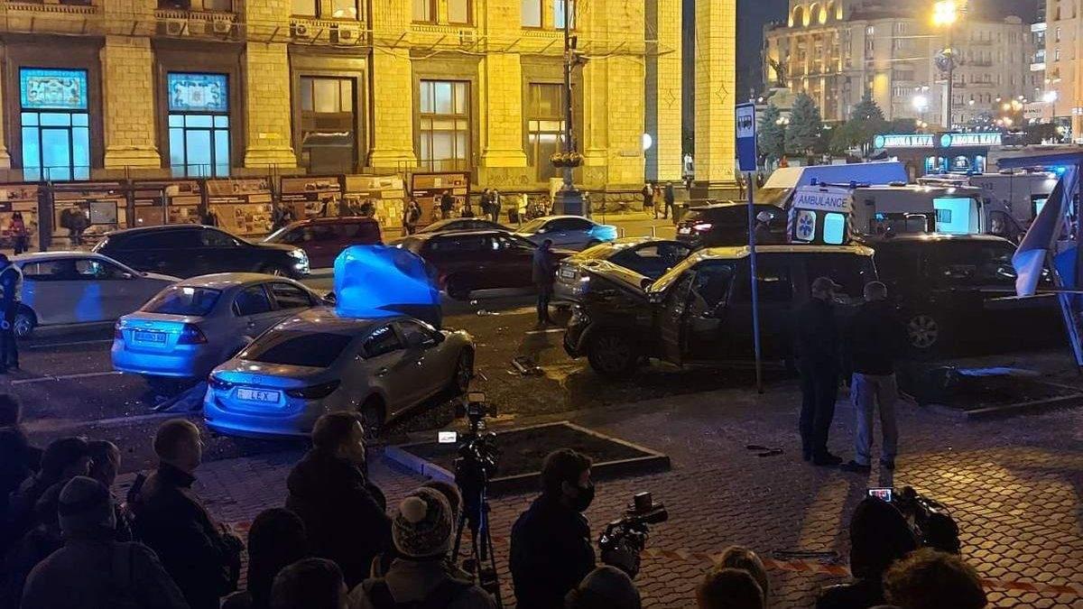 Жахлива ДТП на Майдані: у поліції відкрили кримінальну справу