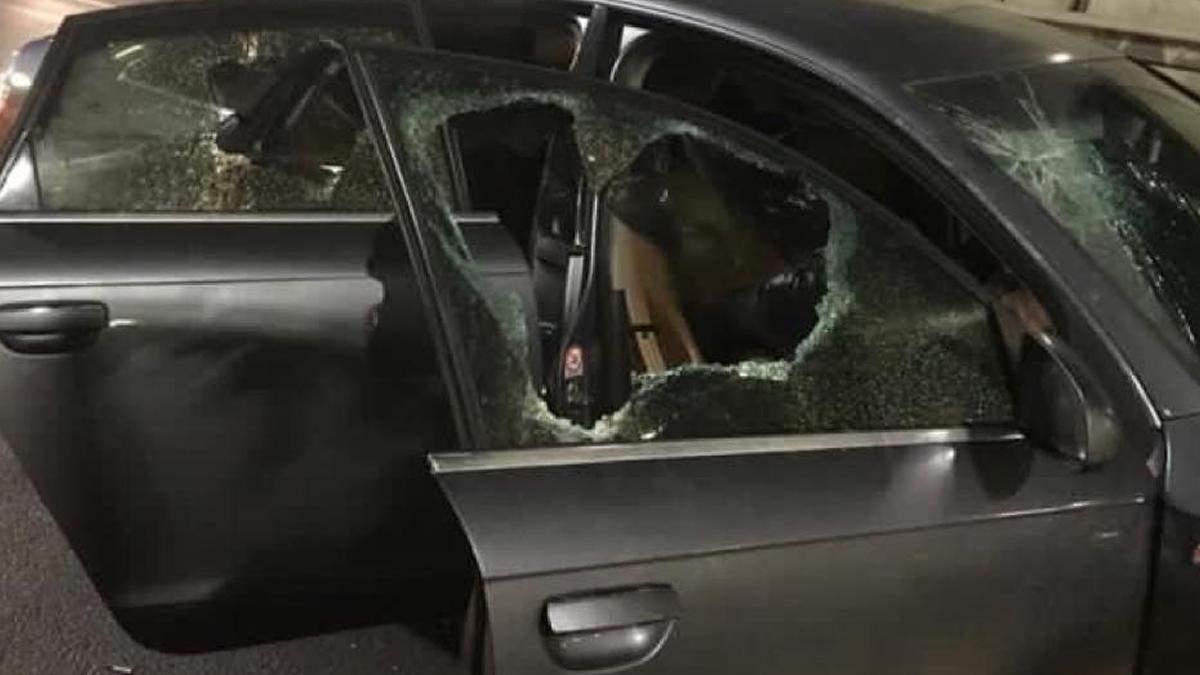 Стрілянина у Києві: на Південному мосту поліція затримала злодіїв