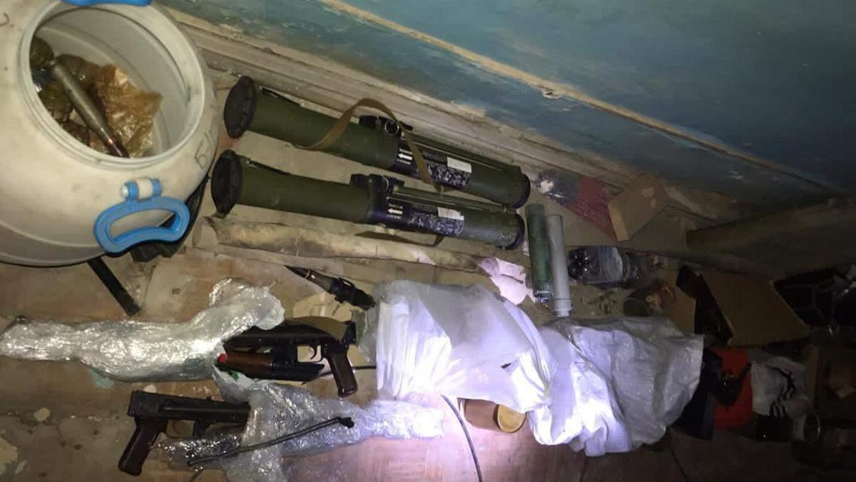 Зброя, яку знайшли у НААН в центрі Києва, належала охоронній компанії