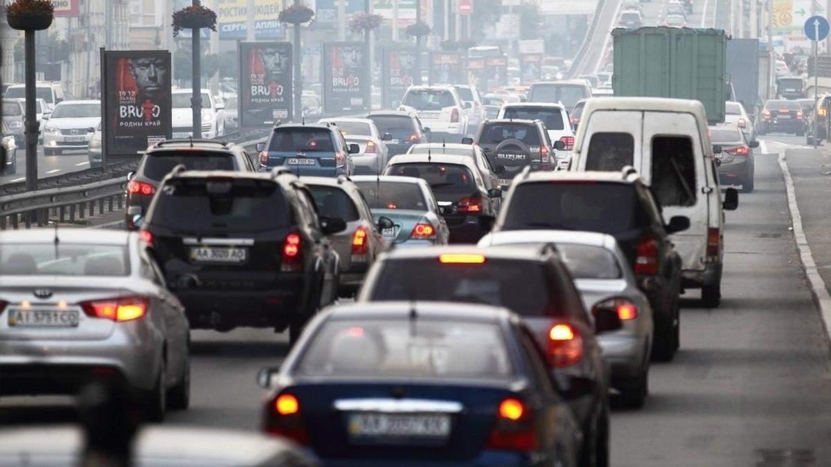 Где в Киеве трудно проехать 1 декабря