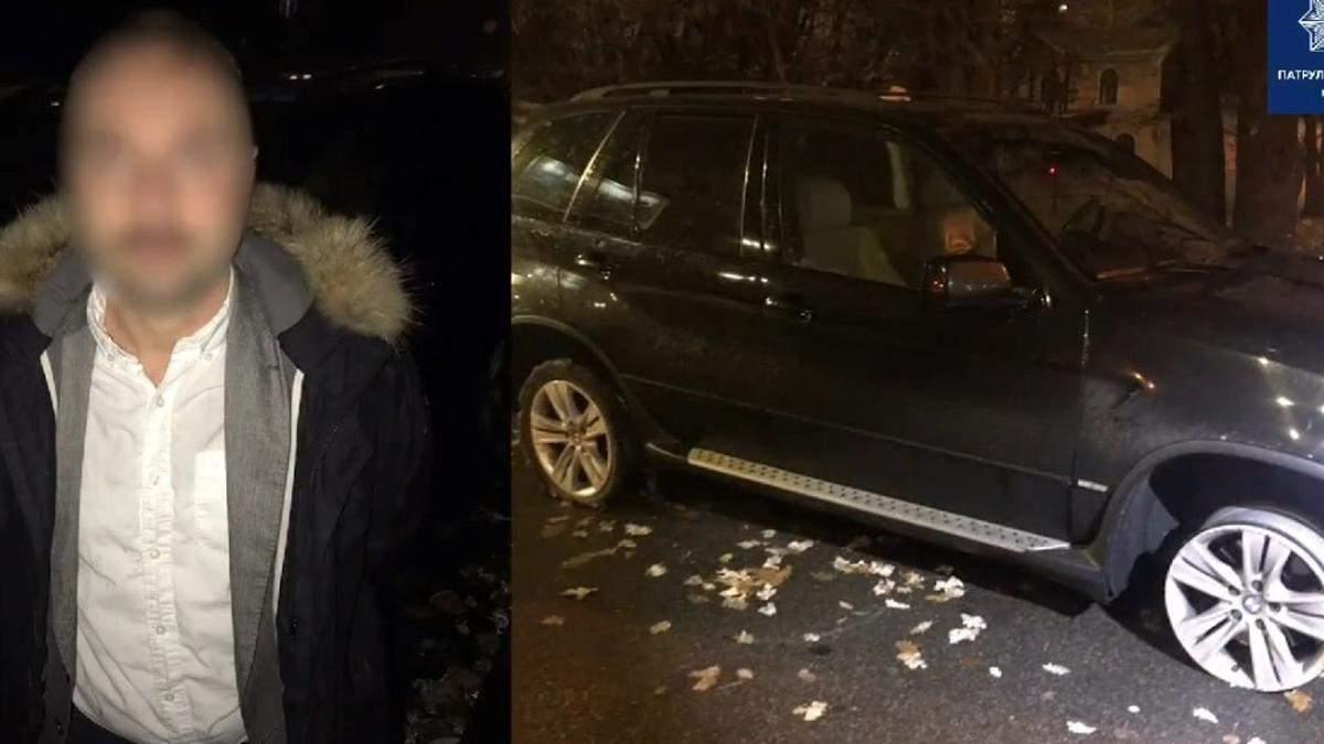 У Києві п'яний водій катався нічними вулицями без гуми на колесах