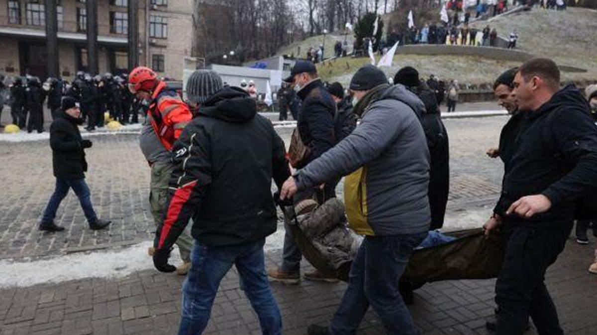 Сутички ФОПів з силовиками у Києві: є постраждалі з обох сторін
