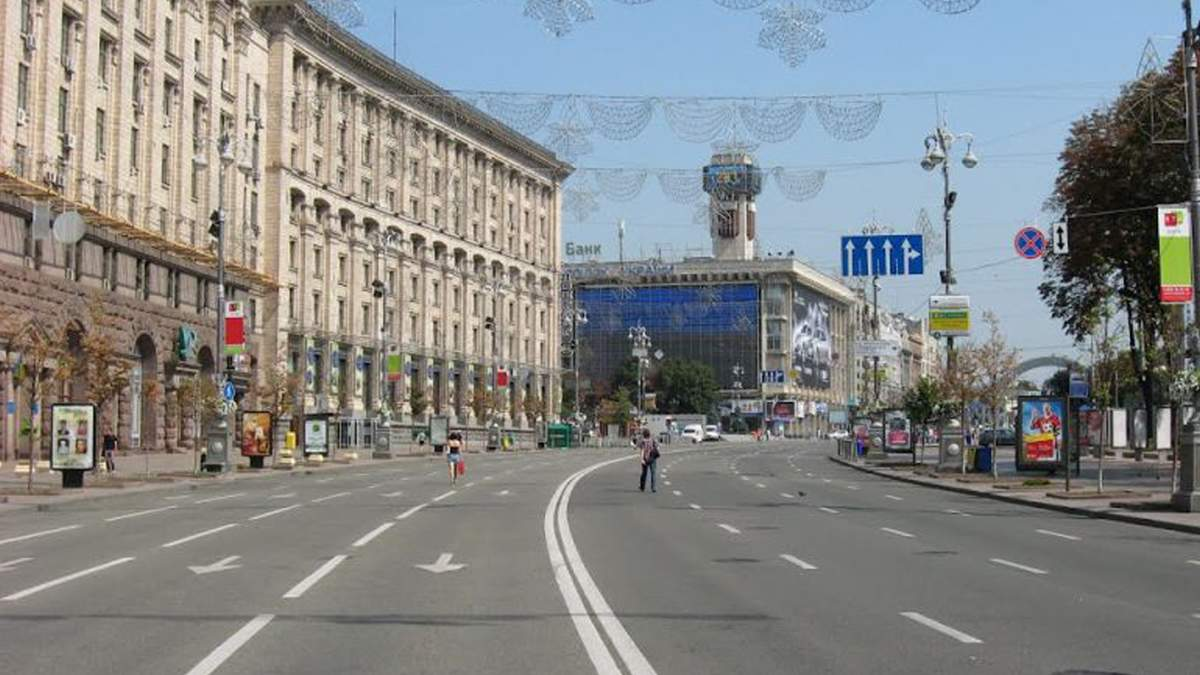В Киеве в 2021 году планируют капремонт Крещатика