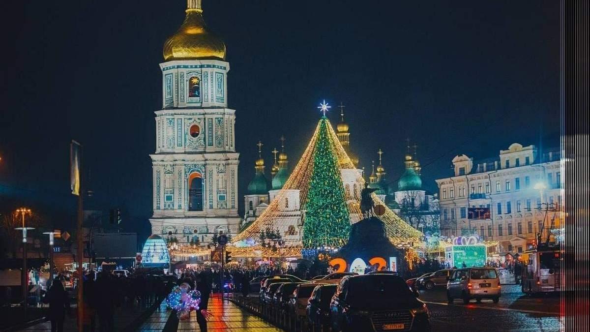 Новорічну ялинку у Києві поки не демонтуватимуть