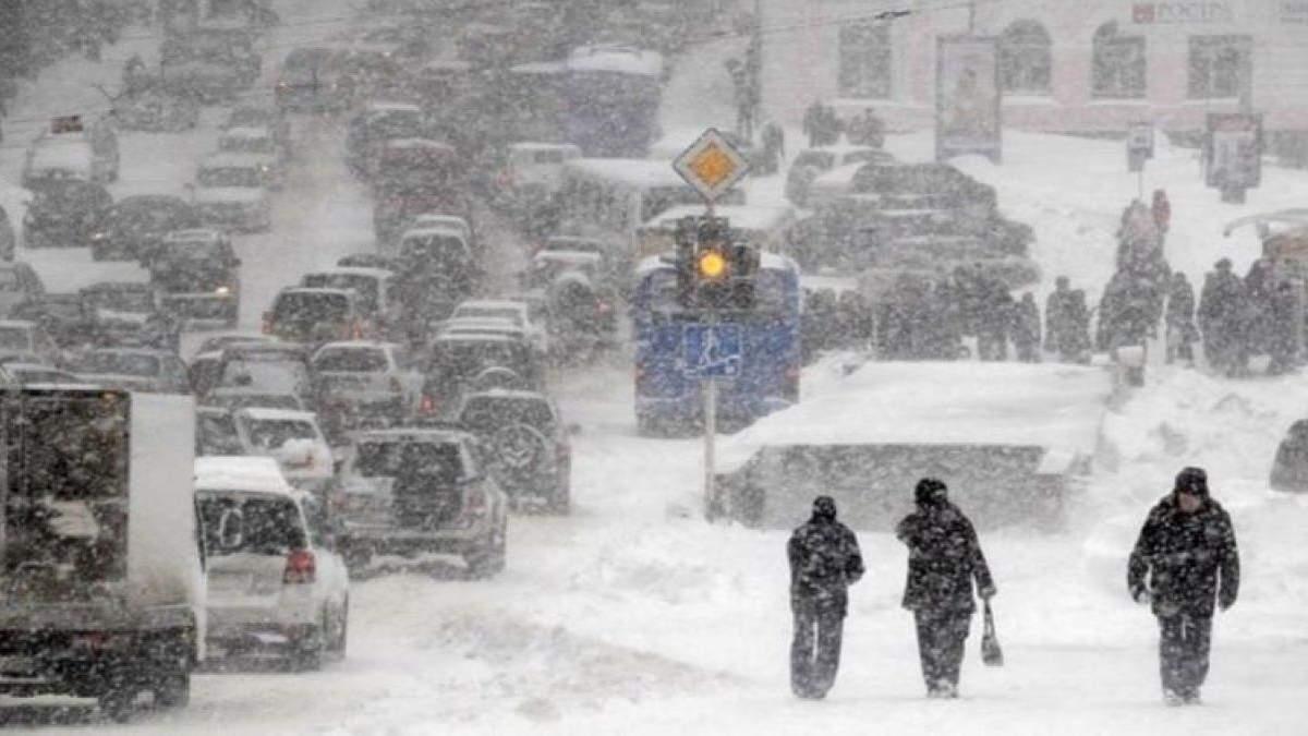 Киян попередили про інтенсивні снігопади