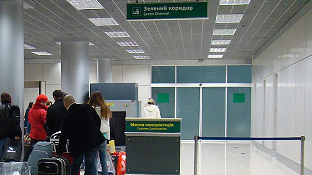 В аэропорту Борисполь таможенники изъяли товары из Турции
